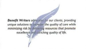 benefit writers rockwall texas statement